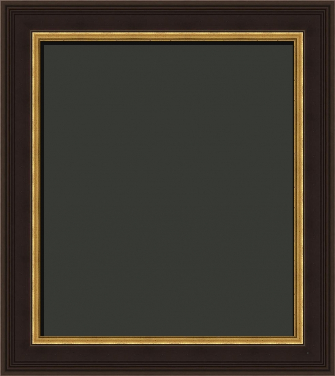 Adara Federal Style Black And Gold Art Frame