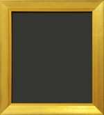 Alita Gold Slant Top Gold Painting Frame