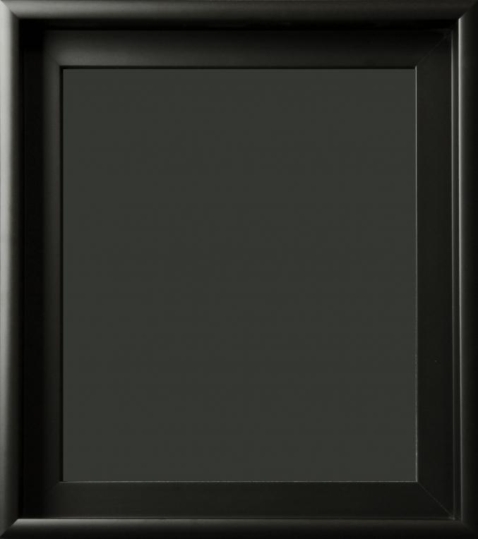 Benning Matte Black Gallery Wrap Floater Frame 1 3/4\