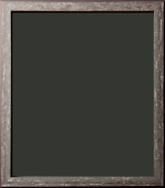 Brentwood Gray Distressed Rustic Frame 1""