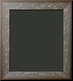 Clifton Gray Distressed Rustic Frame 2 1/4""