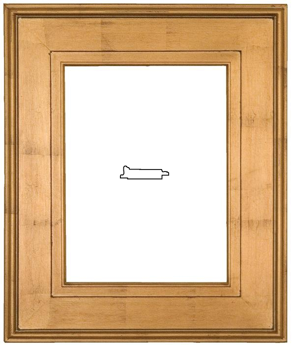 contemporary gold frame