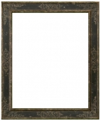 Costa Black and Silver Scroll Frame