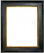 Danbury Black and Gold Picture Frame