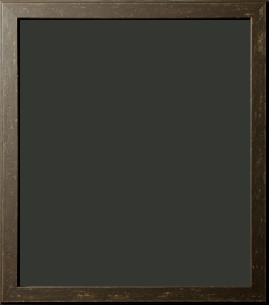 Decatur Saddle Brown Distressed Rustic Frame 1""