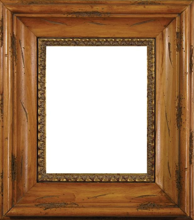 Wood Photo Frames : Distressed Pine Wood Frame