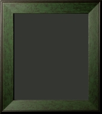 Elkton Evergreen Distressed Rustic Frame 2 1/4""