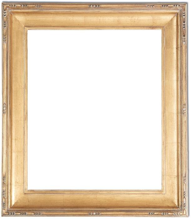 Franklin Craftsman Style Broken Goldleaf Frame