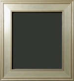 Gilford Silver Scoop Style Painting Frame 3""