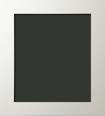 Graden Contemporary Flat Top Matte White Painting Frame 2 1/4""