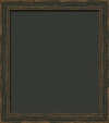 Harrison Distressed Charcoal Black Painting Frame