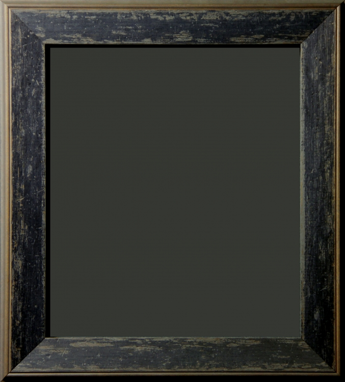 Jellico Black Granite Distressed Rustic Frame 2 1 4 Quot
