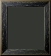 Jellico Black Granite Distressed Rustic Frame 2 1/4""