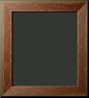 La Vergne Distressed Dark Red Rustic Frame 2 1/4""