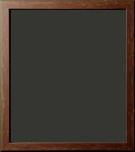 Loudon Distressed Dark Red Rustic Frame 1""