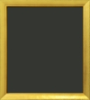Loughlin Gold Slant Top Wood Frame