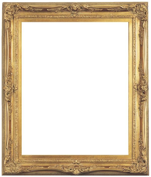 Antique Picture Frames Part - 18: Louis XV Style Antique Gold Frame