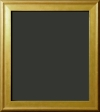 Lucinda Gold Scoop Style Painting Frame 1 3/4""