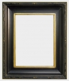 McGovern Distressed Black and Gold Pleinair Style Frame