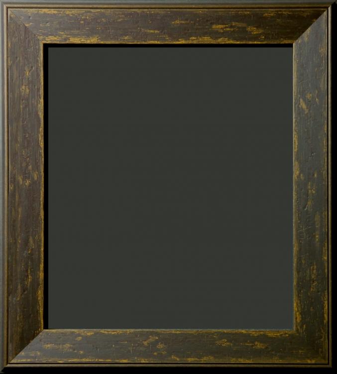 Saddle Brown Distressed Rustic Frame 2 1/4\