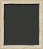 Ronan Distressed Shell White Painting Frame