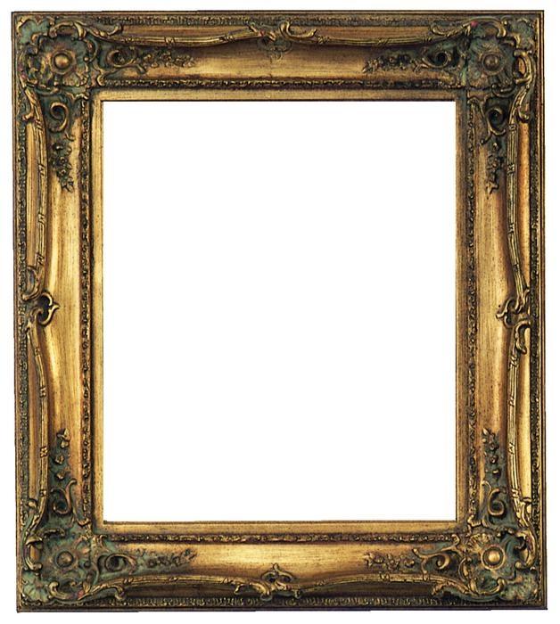 rudolph baroque gold frame