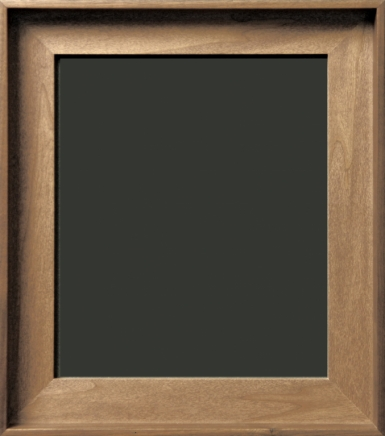 Valier Gallery Wrap Natural Walnut Floater Frame