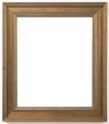 Valonia Fluted Design Dark Gold Frame