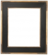 Vetraio Craftsman Style Black and Gold Frame