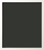 Zandrea Contemporary Matte Flat Top White Painting Frame 3/4""