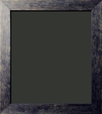 Zane Distressed Black Barnwood Frame 1 3/4""