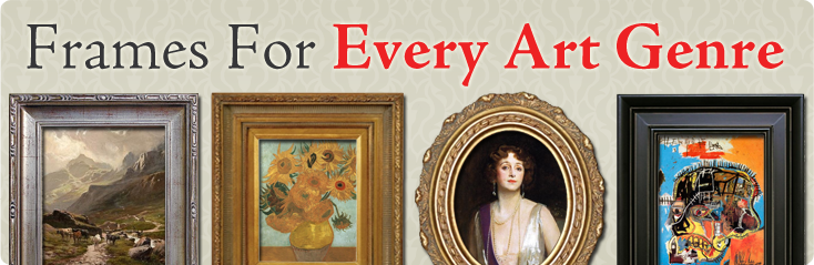 Frames For Every Art Genre